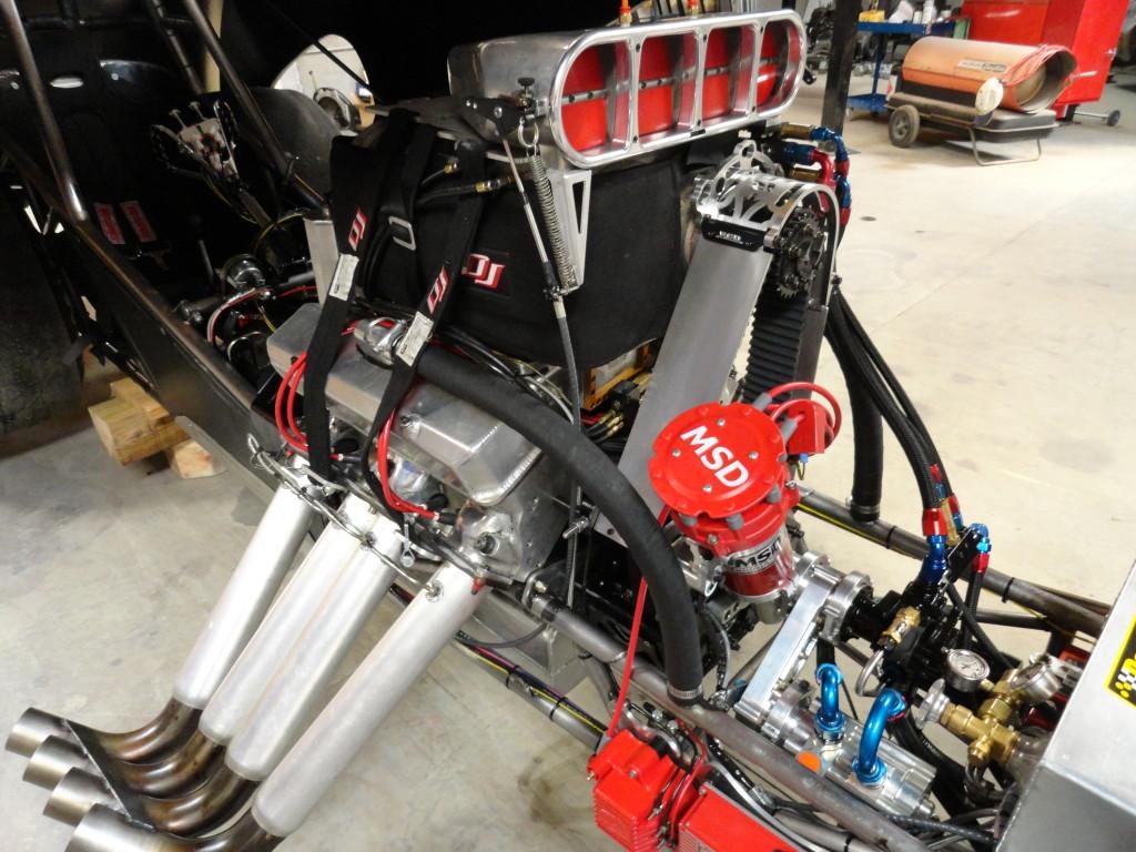Steve Dale's 505 cid Pontiac engine