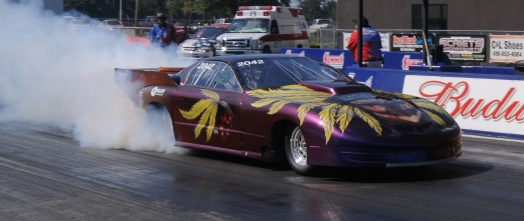John Welter Turbo Pontiac Firebird burnout