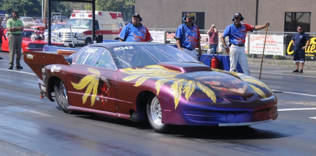 John Welter Turbo Pontiac Firebird launch at Norwalk 2010