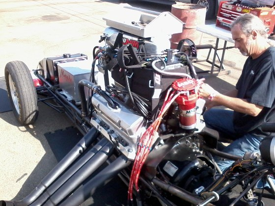 Vince Mayeda Firebird FC nitro Pontiac engine
