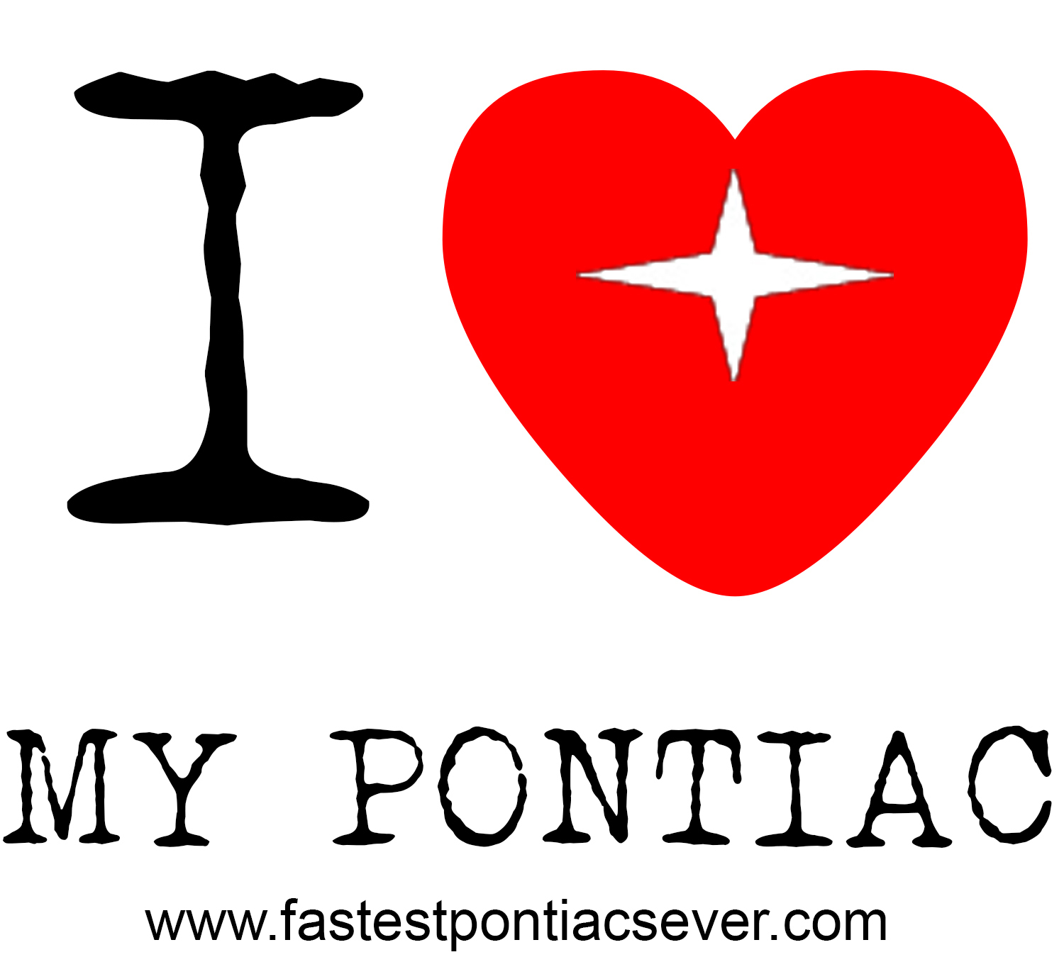 I love MY Pontiac mug design