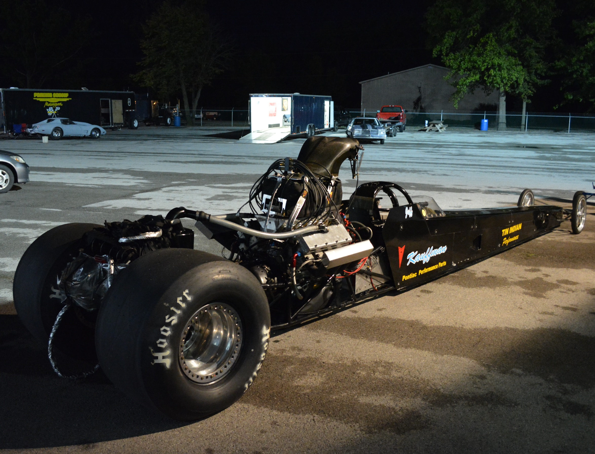 Kauffman Racing Equipment TAD at Norwalk test and tune September 2014