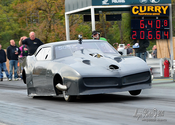 John Welter 68 Bird with 6.408 at 206.64 mph