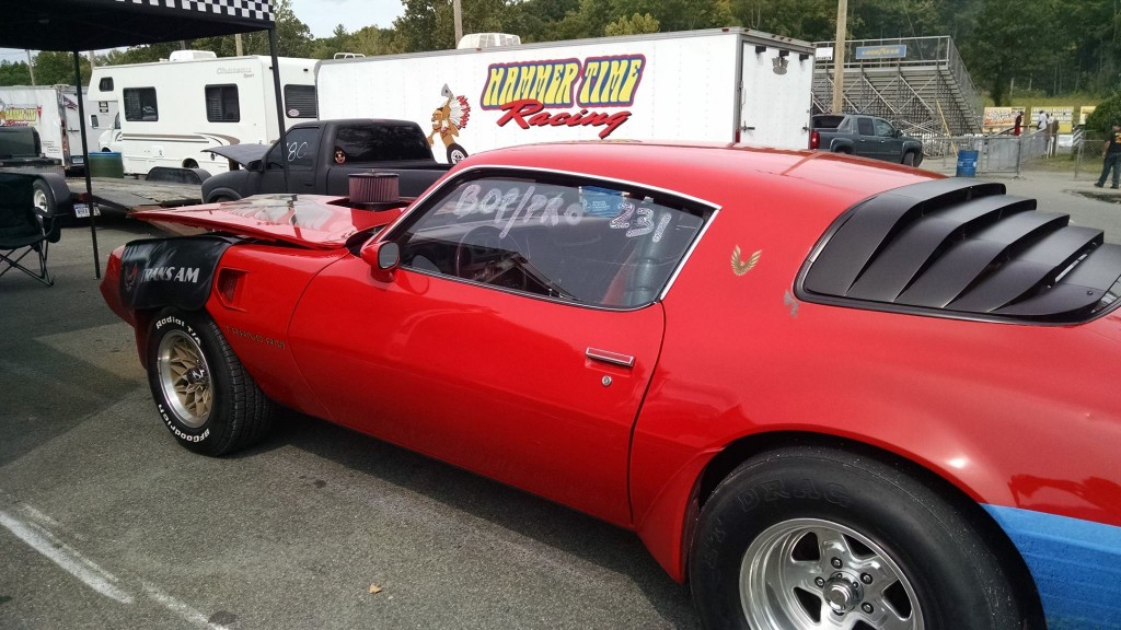 Michael Vaughan 1973 Pontiac Trans Am Lebanon Valley 2015