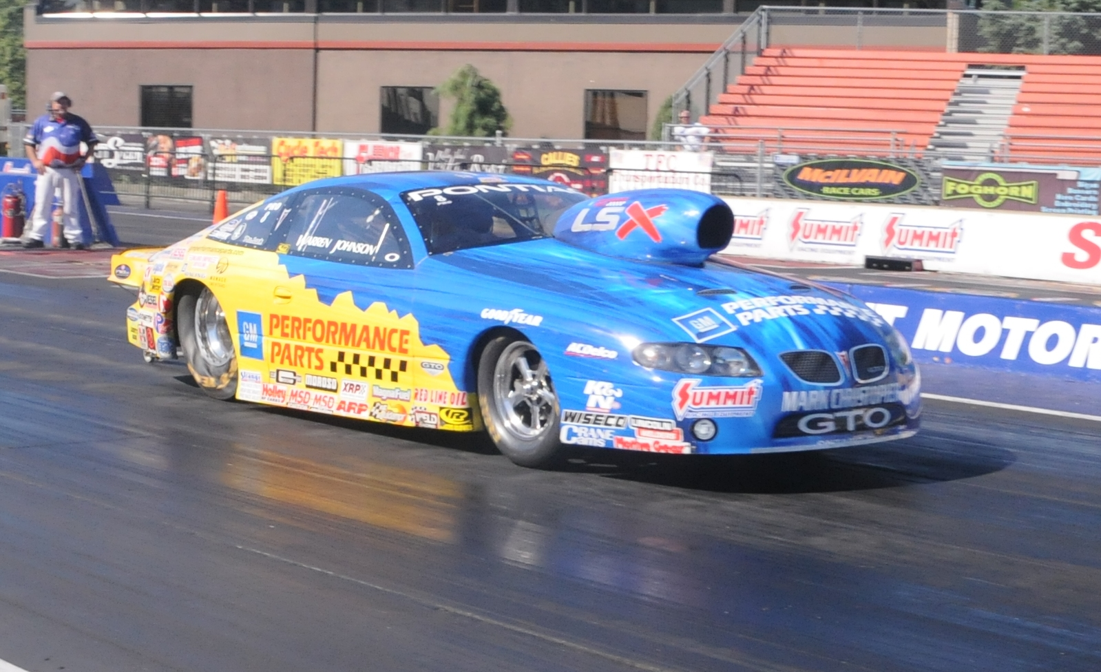 Joe Perkins and his '07 GTO pop on the TOP 10 NA at #3 – fastest ...