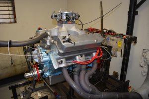 541 Pontiac engine with KRE Super Wedge Heads