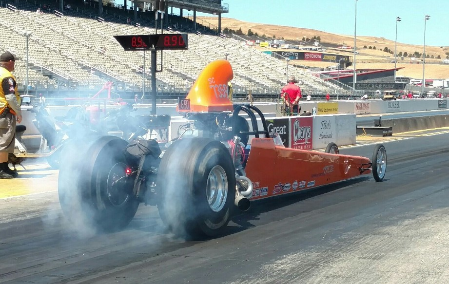 Steve Matteson's Pontiac Powered Rear Engine Dragster resize
