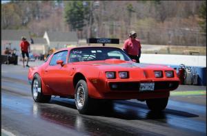 Michael Vaughan 1973 Pontiac Trans Am NED 2015