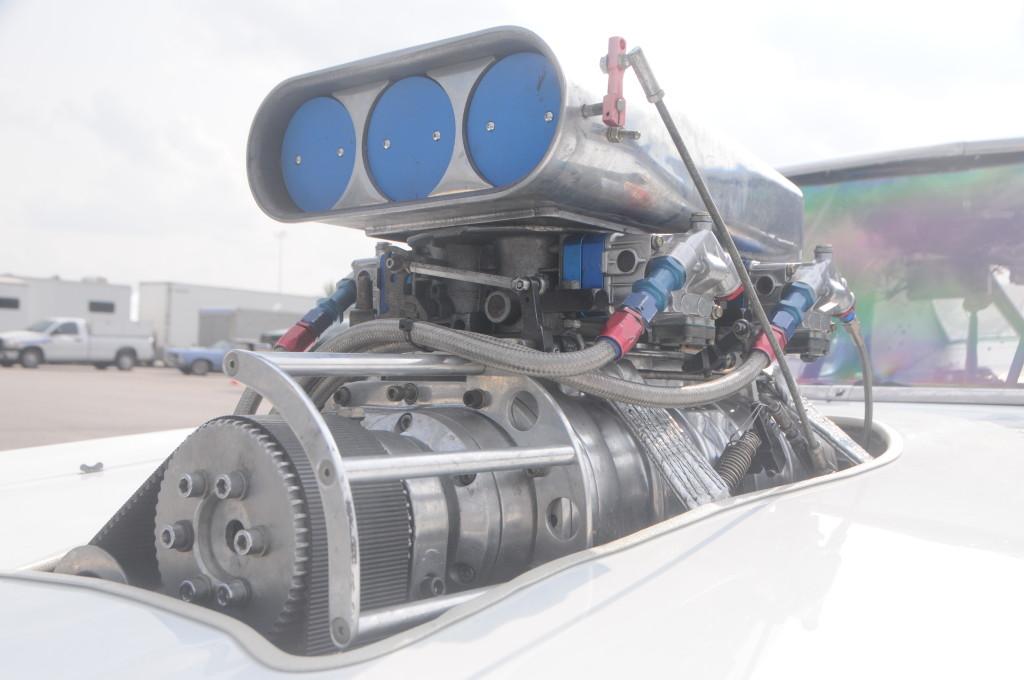 George Z 1974 Pontiac GTO blower