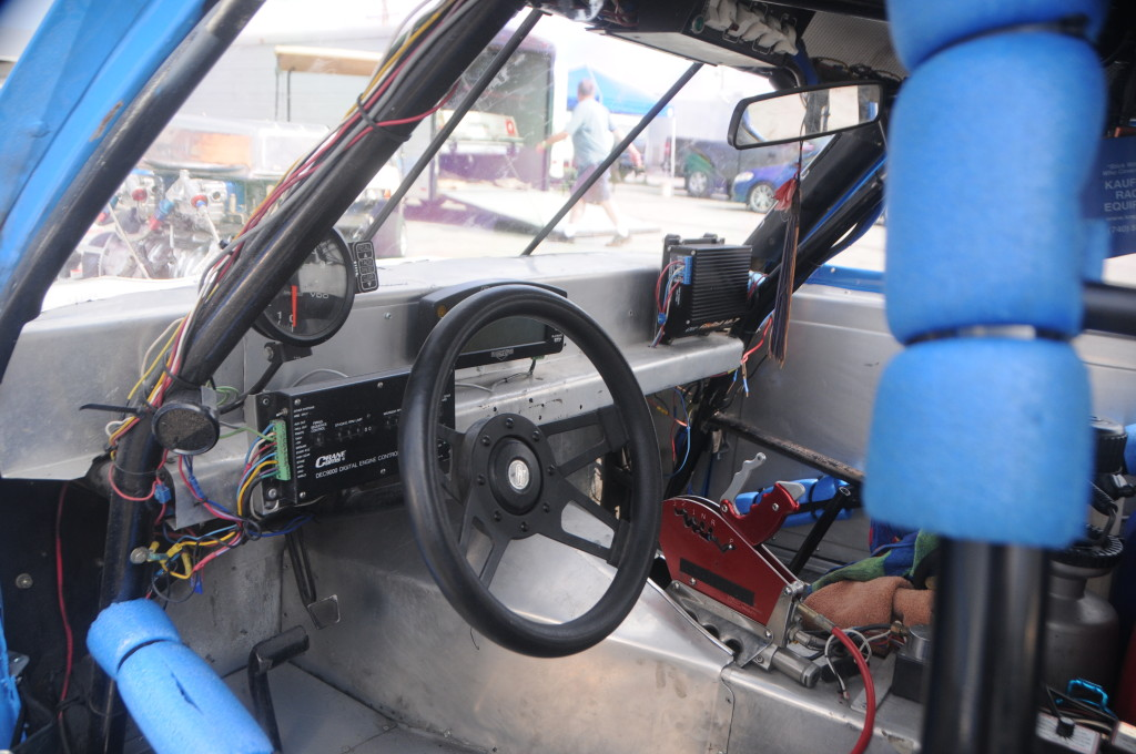 George Z 1974 Pontiac GTO interior