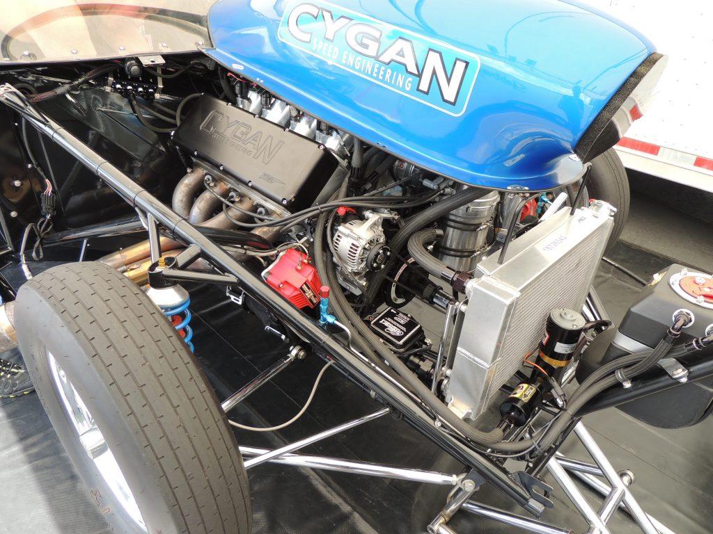 Gary Cygan 1970 GTO Engine
